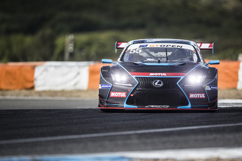 Farnbacher Racing Lexus RC F GT3 in Estoril